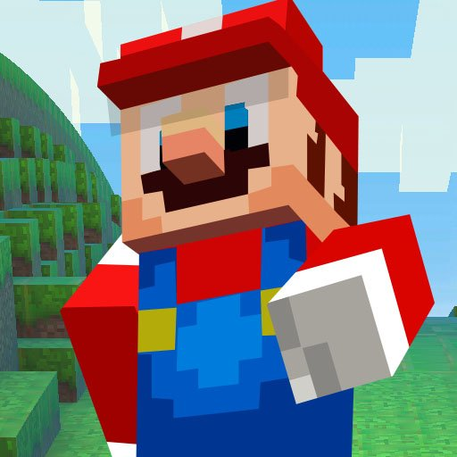 Super Mario MineCraft Runner